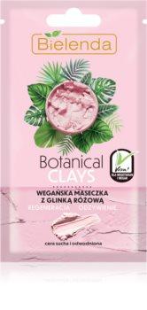 Bielenda Botanical Clays masca nutritiva raparatoare pentru tenul uscat