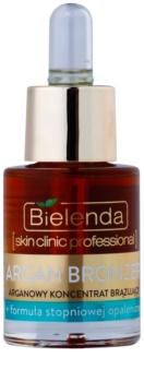 Bielenda Skin Clinic Professional Argan Bronzer óleo em spray para rosto