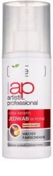 Bielenda Artisti Professional Color Keratin spray de seda líquida para cabelo pintado