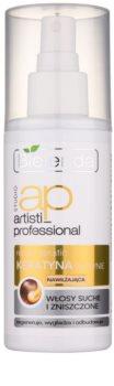 Bielenda Artisti Professional Repair Keratin kératina liquida para cabelo seco a danificado