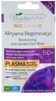 Bielenda BioTech 7D Active Regeneration 60+ máscara revitalizadora antirrugas