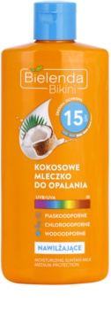 Bielenda Bikini Coconut lotiune hidratanta SPF 15
