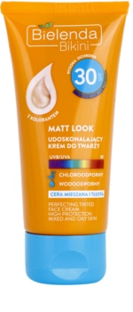 Bielenda Bikini Matt Look Schützende Gesichtscreme SPF 30