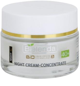Bielenda BioTech 7D Collagen Rejuvenation 40+ нощен интензивен крем за стягане на кожата