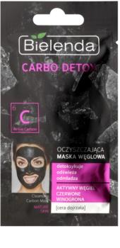 Bielenda Carbo Detox Active Carbon Reinigingsmasker met Activekool  voor Rijpe Huid
