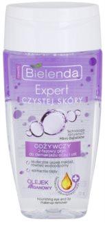 Bielenda Expert Pure Skin Nourishing desmaquilhante de olhos e lábios