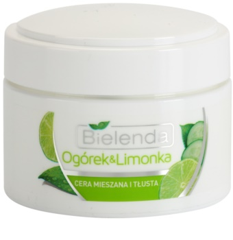 Bielenda Cucumber&Lime Mattifying Moisturizer for Oily and Combination Skin