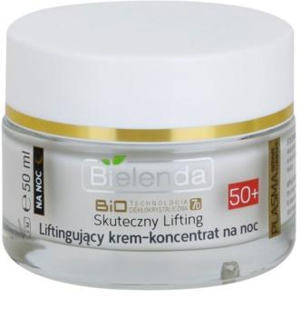 Bielenda Effective Lifting Regenerating Night Cream with Anti-Wrinkle Effect