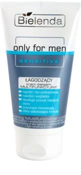 Bielenda Only for Men Sensitive bálsamo calmante multifuncional para pele sensível e irritada