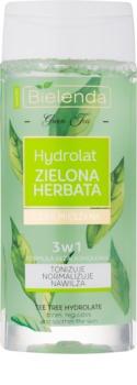 Bielenda Green Tea tónico hidratante para pele oleosa e mista