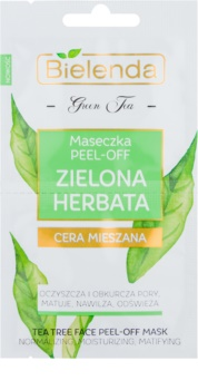 Bielenda Green Tea Peel-Off Mask For Skin With Imperfections
