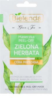 Bielenda Green Tea slupovací maska pro pleť s nedokonalostmi