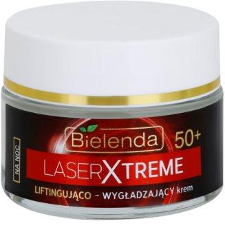 Bielenda Laser Xtreme 50+ creme de noite suavizante com efeito lifting