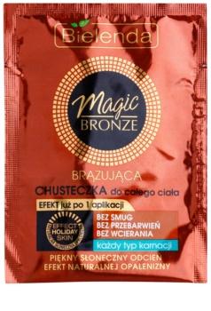 Bielenda Magic Bronze chusteczki samoopalające do wszystkich rodzajów skóry