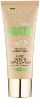 Bielenda Total Look Make-up Nude Match fluidni tekoči puder za poenotenje tona kože