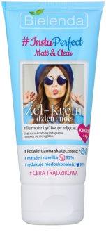 Bielenda #Insta Perfect Matt & Clear creme gel de dia e noite para pele problemática