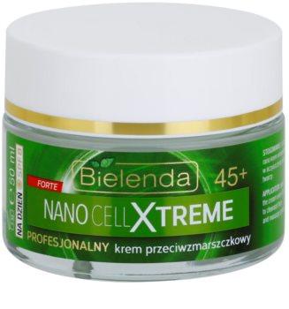 Bielenda Nano Cell Xtreme 45+ creme de dia antirrugas SPF 8