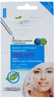 Bielenda Professional Formula luščilna gelasta maska z vlažilnim učinkom