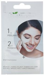 Bielenda Professional Formula piling in maska za občutljivo in pordelo kožo