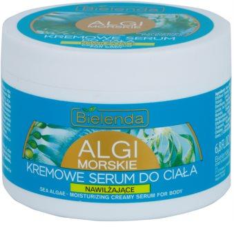 Bielenda Sea Algae Moisturizing siero in crema per il corpo per tendere la pelle