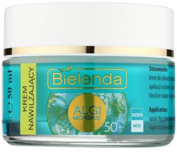 Bielenda Sea Algae Moisturizing creme antirrugas 50+