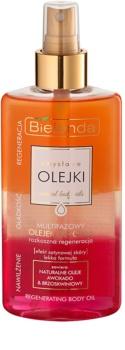 Bielenda Sensual Body Oils óleo corporal multifásico com efeito regenerador