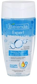 Bielenda Expert Pure Skin Moisturizing двуфазен лосион за грим за зоната около очите и устните