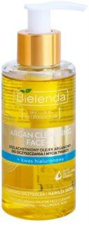Bielenda Skin Clinic Professional Moisturizing arganový čisticí olej s kyselinou hyaluronovou