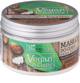 Bielenda Vegan Friendly Shea manteiga corporal