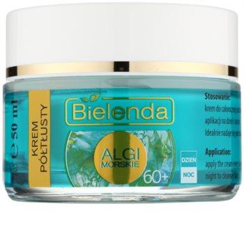 Bielenda Sea Algae Semi-Rich creme antirrugas nutritivo 60+