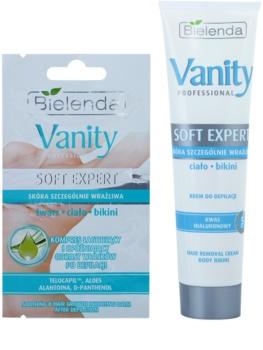 Bielenda Vanity Soft Expert депилиращ крем за тяло с хидратиращ ефект