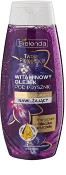Bielenda Your Care Frangipani & Royal Jelly olejek pod prysznic nawilżający i odświeżający skórę z witaminami