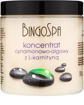BingoSpa Cinnamon & Algae zeštíhlující koncentrát s L- karnitinem