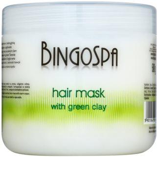 BingoSpa Green Clay maska na vlasy