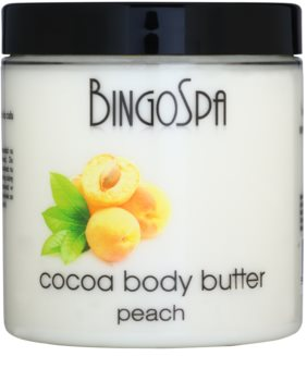 BingoSpa Peach kakaové máslo na tělo