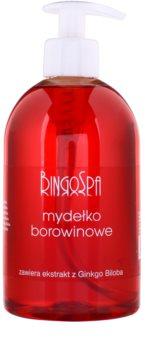 BingoSpa Peat tekuté mýdlo s extraktem z Ginko Biloby