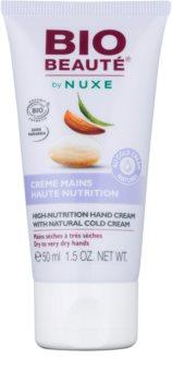 Bio Beauté by Nuxe High Nutrition крем за ръце  съдържа cold cream