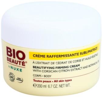 Bio Beauté by Nuxe Body creme corporal reafirmante com extrato de limão da Córcega e óleo botânico