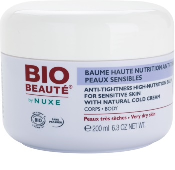 Bio Beauté by Nuxe High Nutrition bálsamo nutritivo intensivo con cold cream
