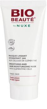 Bio Beauté by Nuxe Moisturizers maschera lisciante idratante con polpa di clementine