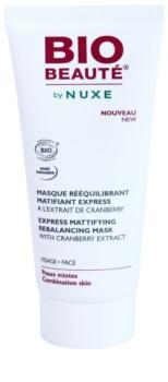 Bio Beauté by Nuxe Rebalancing Mattifierande ansiktsmask med extrakt av tranbär för por-åtdragning