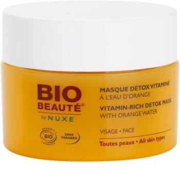 Bio Beauté by Nuxe Masks and Scrubs masca detoxifianta cu vitamine cu extras de portocala