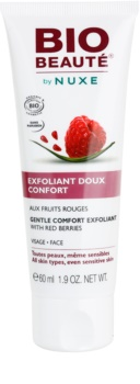 Bio Beauté by Nuxe Masks and Scrubs exfoliante facial suave de frutos rojos