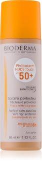 Bioderma Photoderm Nude Touch ochronny podkład mineralny z efektem nude SPF50 SPF 50+