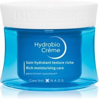 Bioderma Hydrabio Crème Ravitseva Kosteuttava Voide Kuivasta Erittäin Kuivaan Herkkään Ihoon