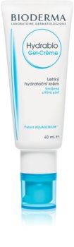 Bioderma Hydrabio Gel-Crème crema-gel hidratante textura ligera  para pieles sensible (normales y mixtas)