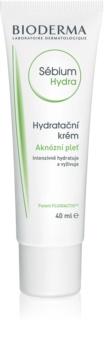 Bioderma Sébium Hydra crème hydratante pour peaux sèches et irritées après un traitement anti-acné