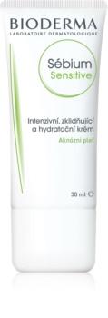 Bioderma Sébium Sensitive crema intensă de hidratare și calmare pentru piele uscata si iritata in urma tratamentului antiacneic