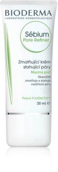 Bioderma Sébium Pore Refiner crème légère matifiante pour le visage pour resserrer les pores