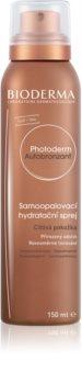 Bioderma Photoderm Autobronzant spray auto-bronzant pour peaux sensibles